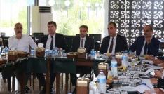 Burdur 2.OSB toplantıları ilk kez Vali Şıldak başkanlığında yapıldı