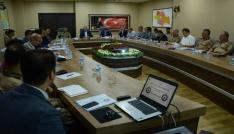 Siirtte seçim güvenliği toplantısı yapıldı