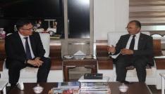 Belarus Cumhuriyeti Ankara Büyükelçisi Savınykhdan, Başkan Köksoya ziyaret