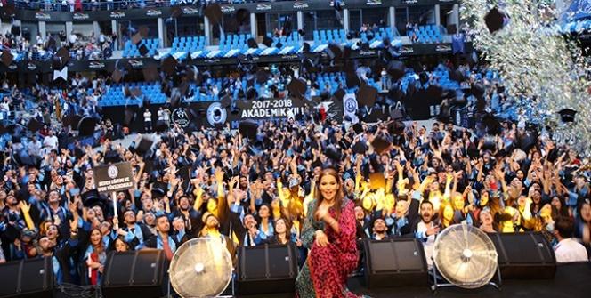 İstanbul Esenyurt Üniversitesi'nde mezuniyet sevinci