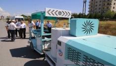 Güvenli ve Seri Ulaşımın için Yol Çizgileri Melikgazi Belediyesince Yapılıyor
