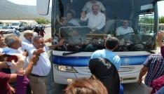 Bakan Elvan Bozyazıda coşkuyla karşılandı