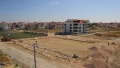 Karamanda Mehmet Bey Mahallesine yeni park