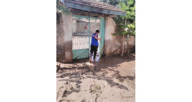 Sungurludaki su baskınlarına AFADtan müdahale