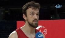 Sertaç Şanlı: 'Euroleague'de oynamak heyecan verici'