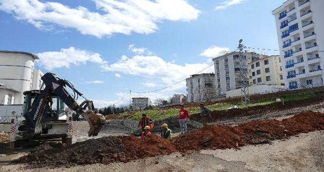Doğu Karadenizin en büyük mahallesi doğalgaza kavuşuyor