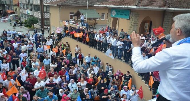 AK Parti Milletvekili adayları seçim çalışmalarını sürdürüyor