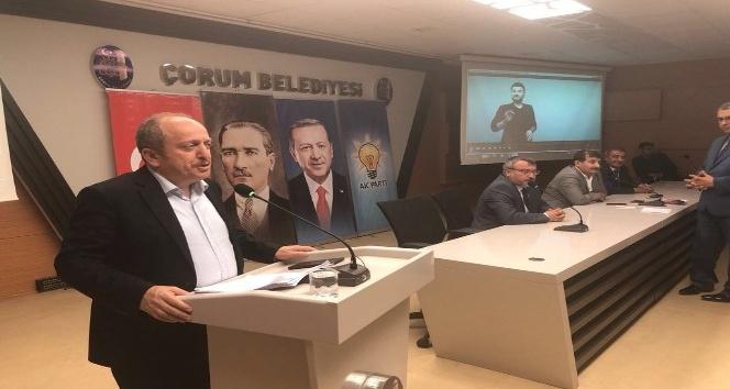 AK Partiden sandık görevlileri ve müşahitlere eğitim