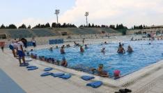Yunusemrede yüzme kursları başladı
