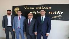 Kayseri Gazeteciler Cemiyetine ziyaretler sürüyor