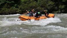 Munzur Nehri, uluslararası rafting parkuru ilan edildi