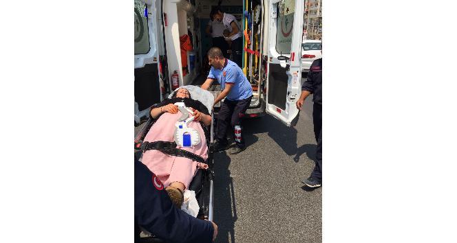 Mardinde zincirleme kaza: 10 yaralı