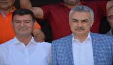 Mustafa Savaş, Germencikte esnaf ve üreticiyi dinledi