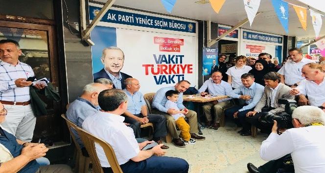 """AK Partili Turan: """"Çok kıymetliyse CHPye başkan yapsaydınız"""""""