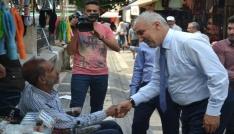 AK Partili adaylar esnaf ziyaretlerinde