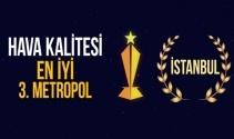 Havası zehir kusan İstanbuldan hava kalitesinde dünyanın en iyi 3. metropolüne