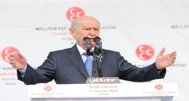 """MHP Lideri Bahçeli: """"24 Haziran Türkiye'nin yeniden doğuş, dirilişinin miladıdır"""""""
