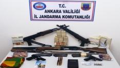 Ankarada terör örgütünün propagandasını yapan 11 kişiye gözaltı