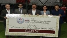 Spor Bakanlığından Gümüşhanenin amatör spor kulüplerine destek