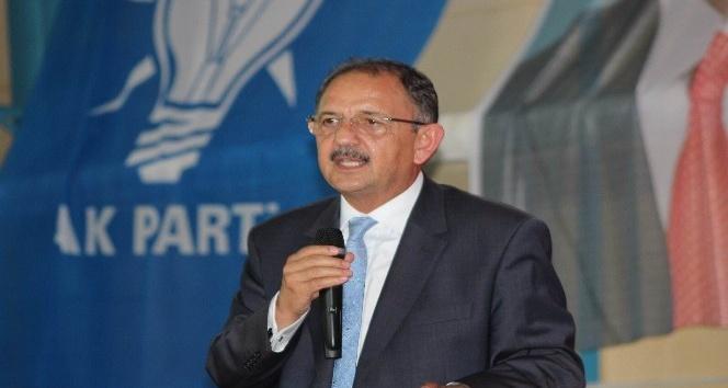 Bakan Özhaseki: Bizim parti olarak söyleyeceğimiz çok şey var