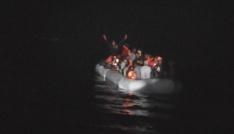 Kuşadası Körfezinde 38 kaçak göçmen yakalandı