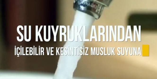 Su kuyruklarından içilebilir musluk suyuna İstanbul'un su serüveni