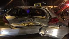 Samsunda zincirleme kaza: 1 yaralı