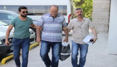 Samsunda FETÖden gözaltına alınan emekli polis adliyeye sevk edildi