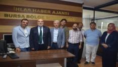 Yelis, İHAyı ve Türkiye Gazetesini ziyaret etti
