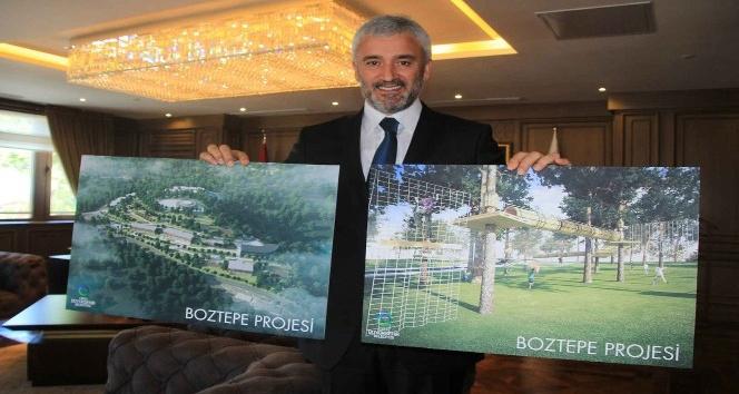 Boztepede Macera Parkın sözleşmesi imzalandı