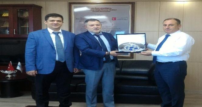 Rusyanın Trabzon Başkonsolosundan DKİBe ziyaret