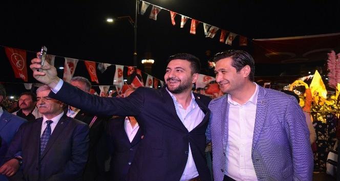 MHP Sivas Milletvekili adayı Uygunuçarlar seçim çalışmalarını sürdürdü