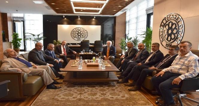 AK Parti Grup Başkan Vekili Mustafa Elitaş, KTOyu ziyaret etti