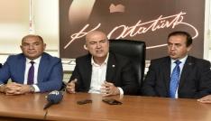 CHP milletvekilleri Tarhan ve Bakan Gümüşhanede
