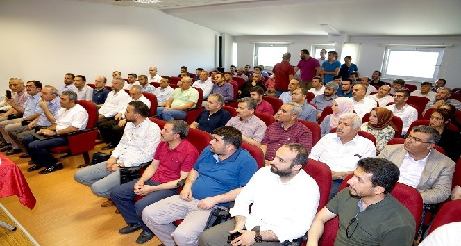 Polattan itfaiye personellerine ziyaret