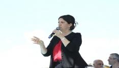 Şemdinli ve Yüksekovada HDP mitingi