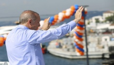 """Cumhurbaşkanı Erdoğan: """"Devam talimatı verin, biz bu ülkeyi uçurmaya devam edelim"""""""