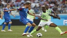 Nijerya, İzlandayı 2-0 mağlup etti