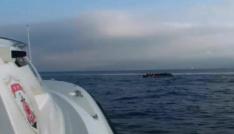 Kuşadası Körfezinde 3ü çocuk, 16sı kadın 41 kaçak göçmen yakalandı