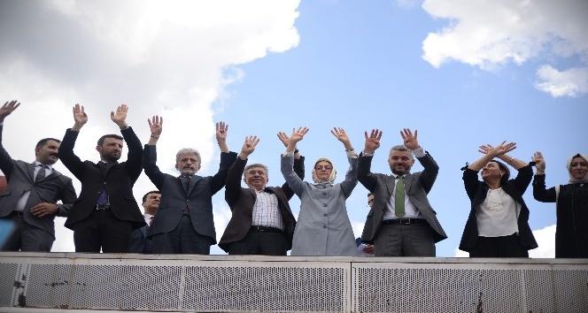 Başkan Çetin: Pazar günü Pursaklarda sandıkları patlatacağız
