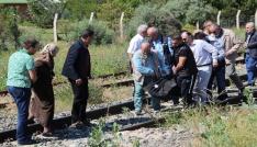 Lokomotifin çarptığı yaşlı adam hayatını kaybetti
