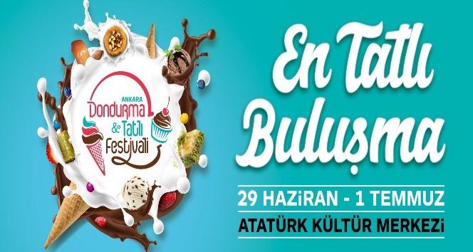 Ankarada en tatlı festival