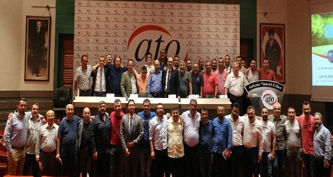 Lastik sektörü temsilcileri ATOda buluştu