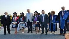 Biga İİBFden 700 öğrenci mezun oldu