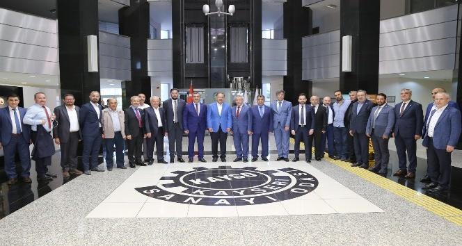 KAYSODA Haziran Ayı Meclis Toplantısı Bakan Özhasekinin katılımıyla yapıldı