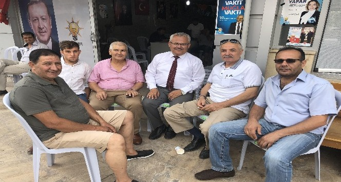 AK Partili Vekil Adayı Dr. Zafer Alkaya, Dalaman, Ortaca ve Köyceğizde vatandaşlarla buluştu
