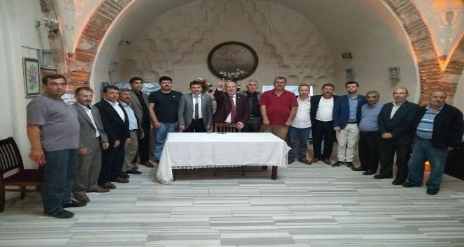 Ahmet Yelis, BBP kurmaylarıyla bir araya geldi