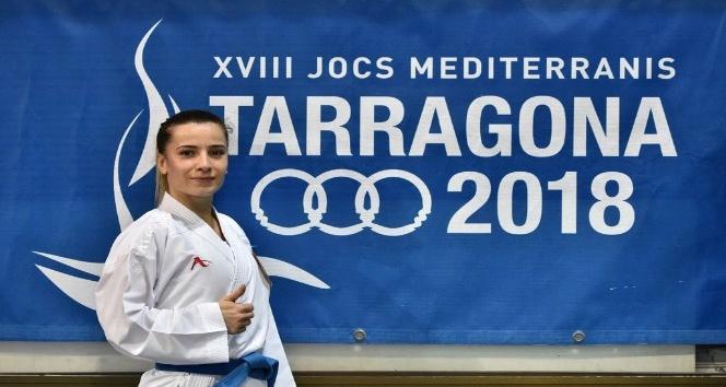Akdeniz Oyunlarında ilk madalya Serap Arapoğlundan