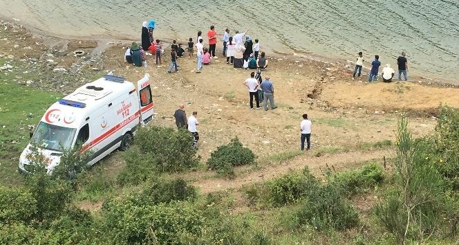 Serinlemek için baraja giren 2si kardeş 3 çocuk hayatını kaybetti