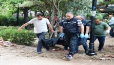 Çanakkalede Halk Bahçesinde erkek cesedi bulundu